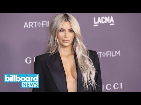 Kim Kardashian Posts Pic of Kanye's 'Famous' Exhibit Feat. Naked Taylor Swift | Billboard News