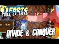 Forts Multiplayer 4v4 Gameplay Divide And Conquer