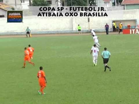 MELHORES MOMENTOS - ATIBAIA 0X0 BRASILIA /  COPA SP FUTEBOL JR