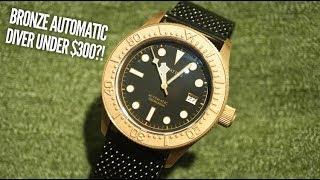 AQUATICO SeaStar Bronze Dive Watch Review...and it