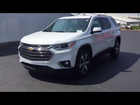 2018 Chevy Traverse >> 2018 Chevrolet Traverse 3LT Leather AWD - YouTube