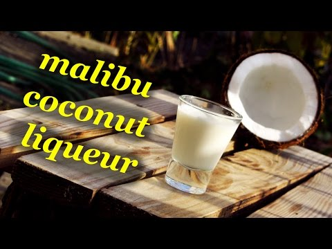 How to make coconut liqueur Malibu