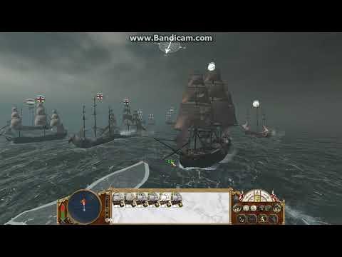 Empire total war navy and land battle Britain vs Netherlands