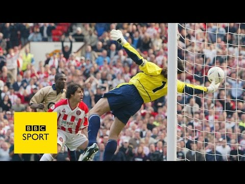 5 brilliant FA Cup saves, featuring Peter Schmeichel - BBC Sport