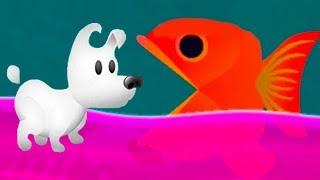 Приключение ПЕСИКА МИМПИ #1 Сон маленького питомца в мультик игре для детей на пурумчата