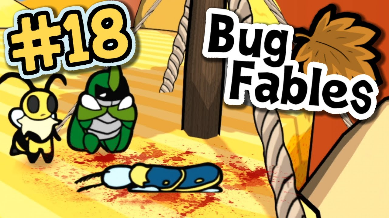 Leif is in DANGER : Bug Fables #18  (Lost Sands)