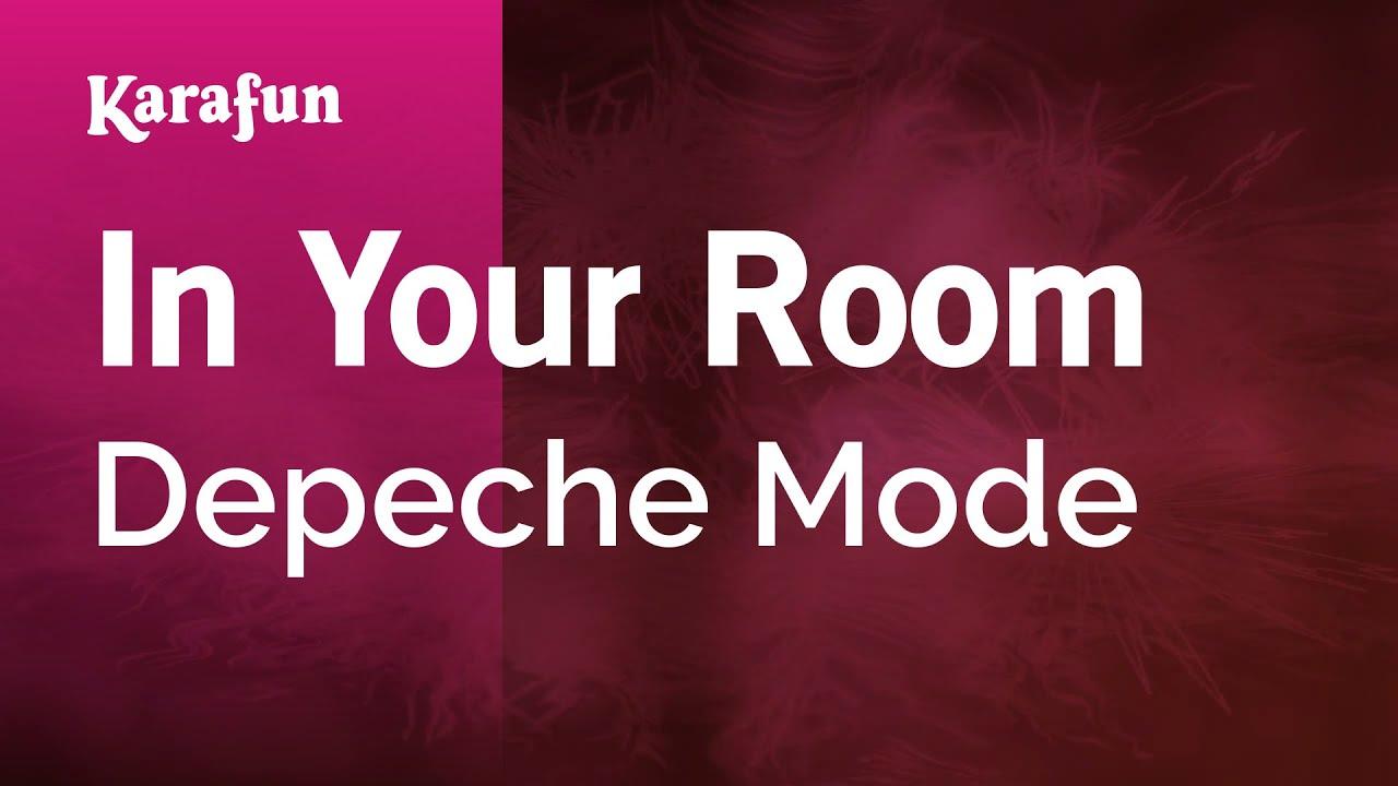 Karaoke In Your Room Depeche Mode Youtube