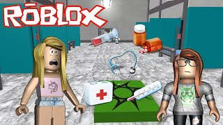 ROBLOX-ESCAPING from the CURSED HOSPITAL (Feat Mana Jhu)