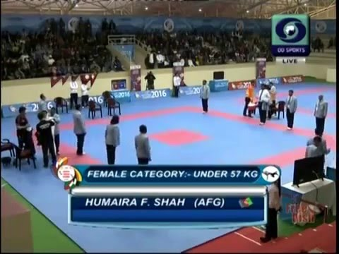 Afghan Taekwondo 2016 south asian games