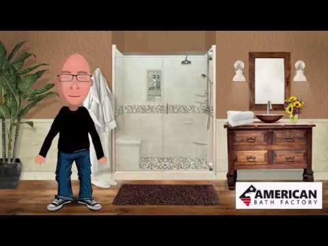 American Bath Factory - Shower Installation Demo - Ask Jimmy