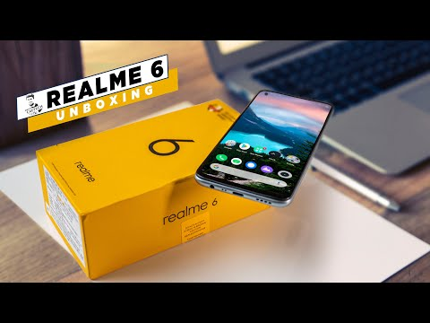 Realme 6 Unboxing & Hands On - 90Hz, Helio G90T, 64MP - Amazing Value!