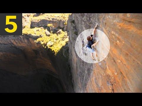 Top 5 Climbing Close Calls