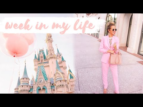 WEEK IN MY LIFE | outfits of the week, work, & fall fun! ✨