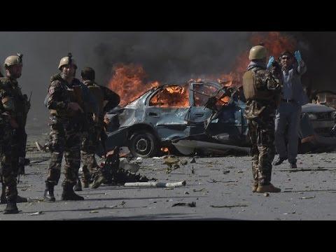 Truck bomb hits Kabul