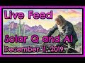 Live Solar Q And A 12/11/2019