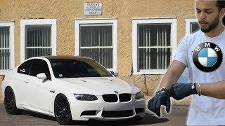 BMW Driver Drives A BMW E92 M3 *MANUAL*