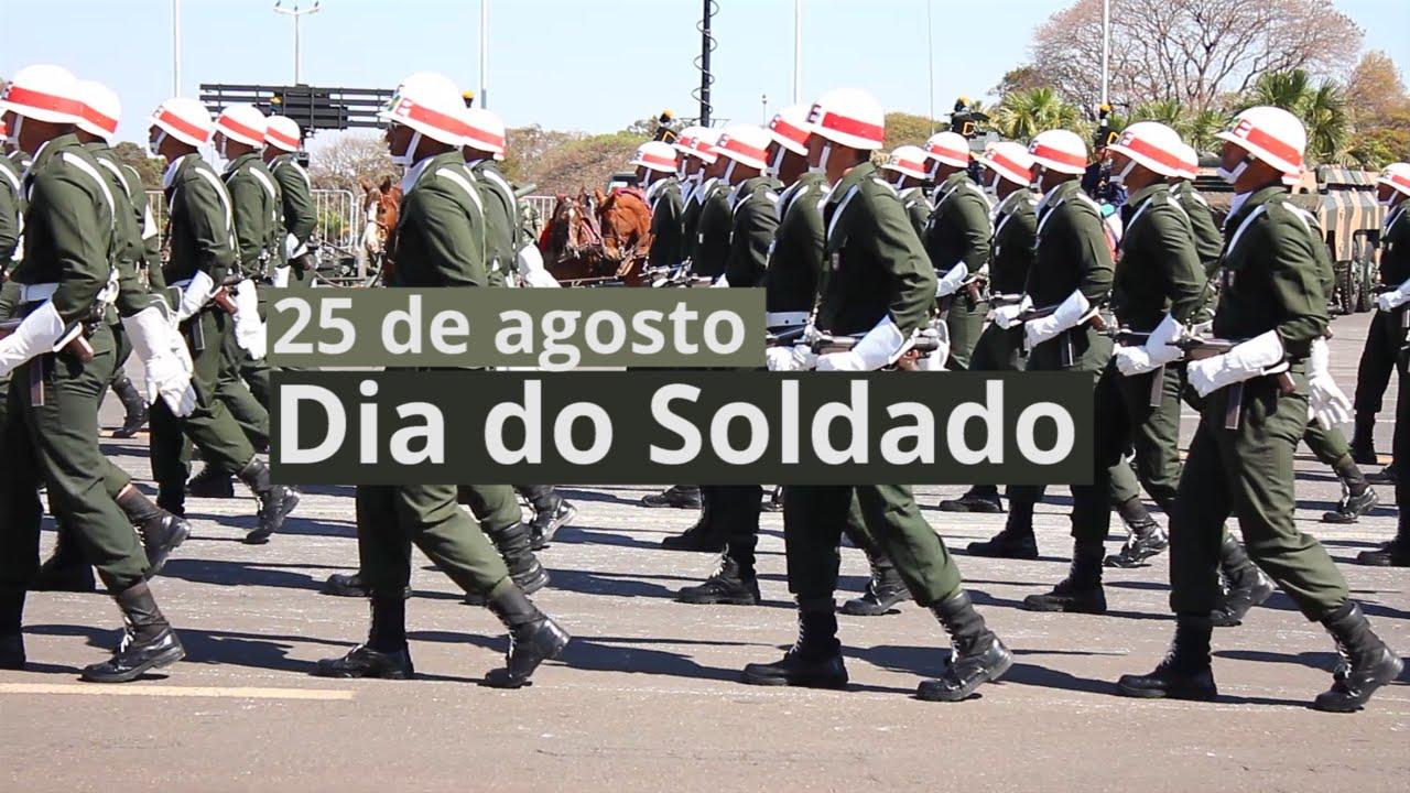 Homenagem Ao Dia Do Soldado