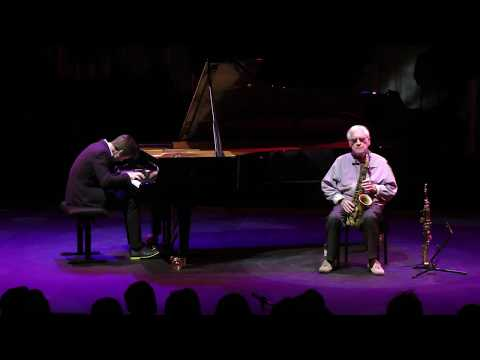 Lee Konitz & Dan Tepfer at the Black Diamond, Copenhagen