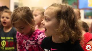 CPN Daycare kids Potawatomi language practice