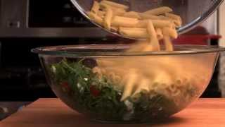 Pasta Recipes - Goat Cheese And Arugula Over Penne