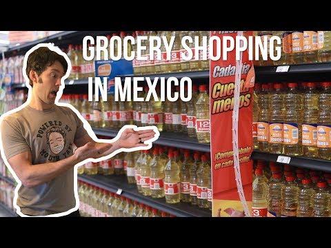 Oxidized Veggie Oils In Mexico | Grocery Store Haul in Cozumel