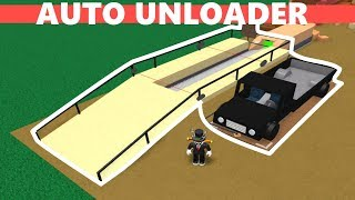 How To Build An Auto Unloader | Lumber Tycoon 2 Roblox