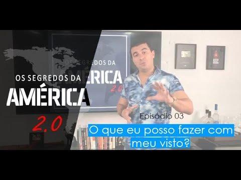 """""""Os Segredos da América 2.0"""" Episódio 3/15 - O que você pode fazer com o seu Visto de Turismo?"""