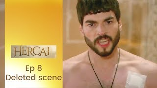 Hercai ❖ Deleted Scene ❖  Ep 8  ❖ Akin Akinozu ❖ Closed Captions 2019