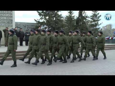 Тюменцы отправились служить в Президентский полк
