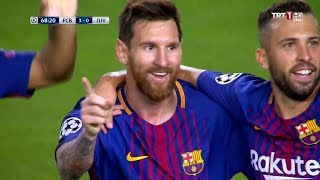 Messi Show At Camp Nou! | FC Barcelona 3-0 Juventus | 12/09/2017 • HD