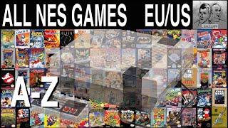 All Nintendo NES Games A-Z  -  708 GAMES (EU/USA)
