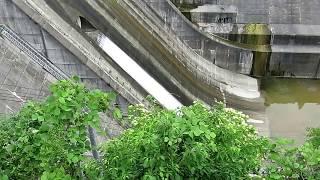 2017/06/25 下久保ダム放流設備点検イベント バルブ抜水 thumbnail