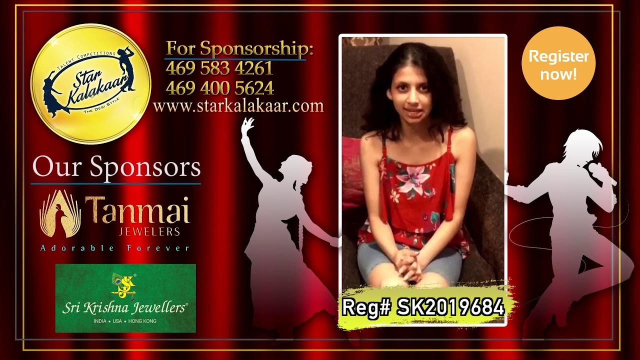 Registration NO - SK2019684 - Introduction Videos StarKalakaar-2019 #SK2019