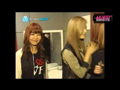 [Vietsub] NUEST & Orange Caramel @ Mnet Widenews