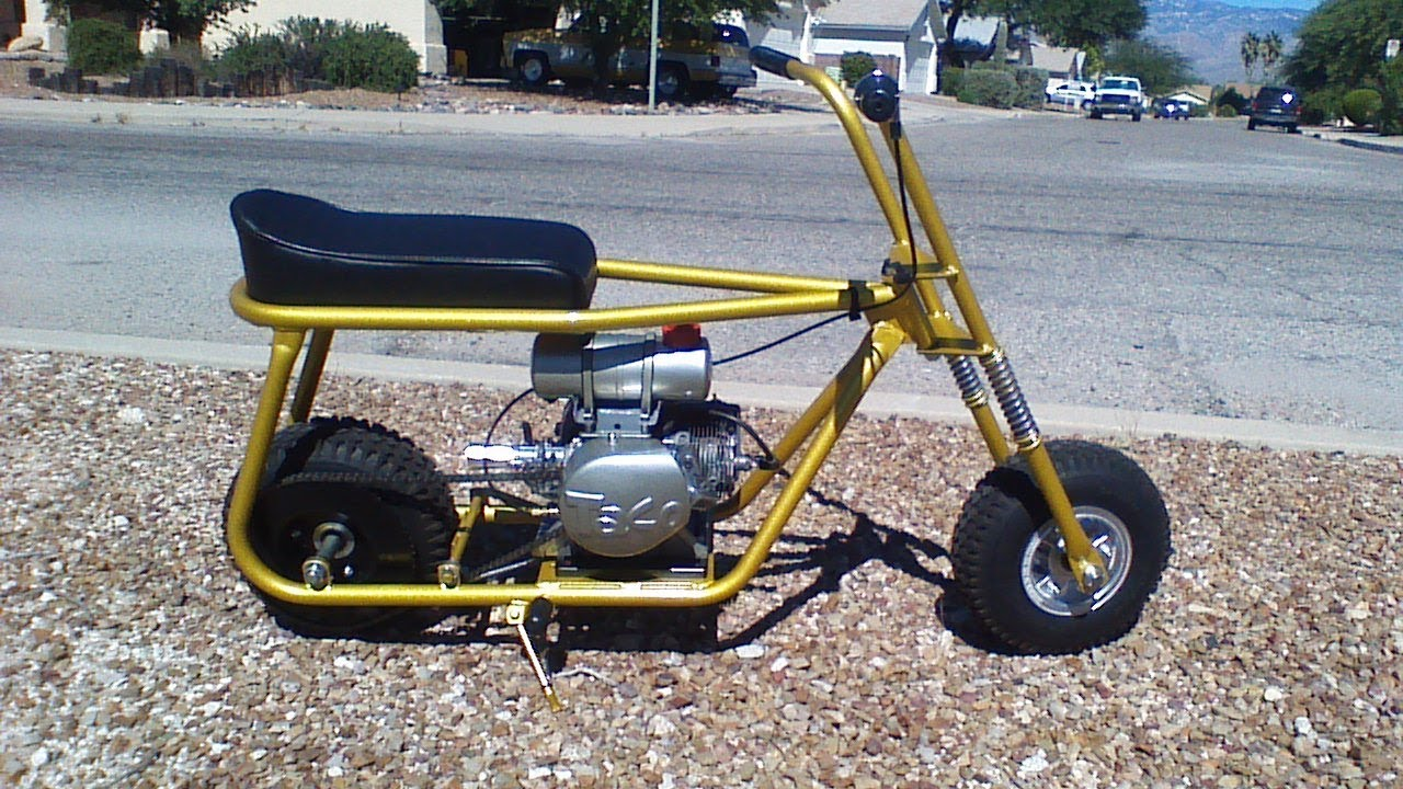 Custom Taco Mini Bike For Sale On Mayerbrothersnet