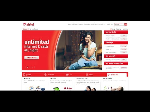 How To Change Airtel Postpaid Plan (my plan) on 'Airtel My