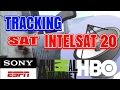 Tracking Satelit Intelsat 20 || HBO SONY ESPN DISCOVERY CHANNEL
