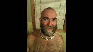 Bringing back the mohawk with reverse video to Mike Fass