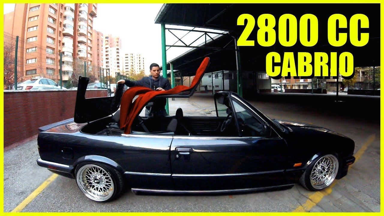 bmw e30 cabrio le dr ft yapmak l lastik kokusu erir. Black Bedroom Furniture Sets. Home Design Ideas