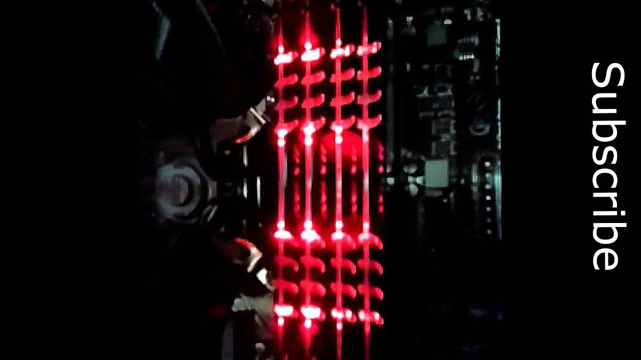 Avexir Core Red LED Memory RAM Light Show (4x4GB 16GB)  sc 1 st  YouTube & Avexir Core Red LED Memory RAM Light Show (4x4GB 16GB) - YouTube