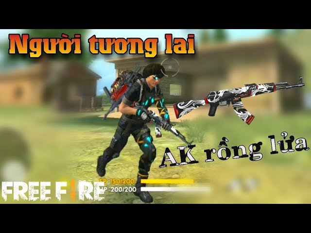 Free Fire | Trang Ph?c Ng??i T??ng Lai Cùng V?i Ak R?ng L?a | Meow DGame