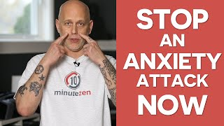 How To Stop An Anxiety Attack Now