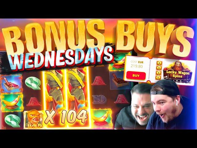50 BONUS BUYS!! MEGA WINS - Deadwood, Iron Bank And MORE