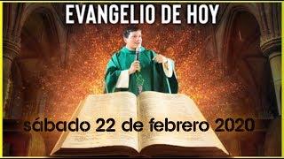 EVANGELIO DE HOY | DIA Sabado 22 de Febrero de 2020