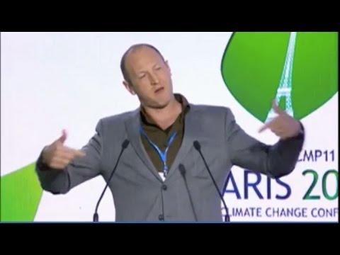 Rapper Baba Brinkman presents Laudato Si at COP 21