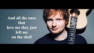 Save myself Ed Sheeran (Lyrics)