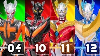 UltraMan Zero StrongCorona Luna Zero VS ZeroDarkness DarkLops Zero Dragon Battle Transformation