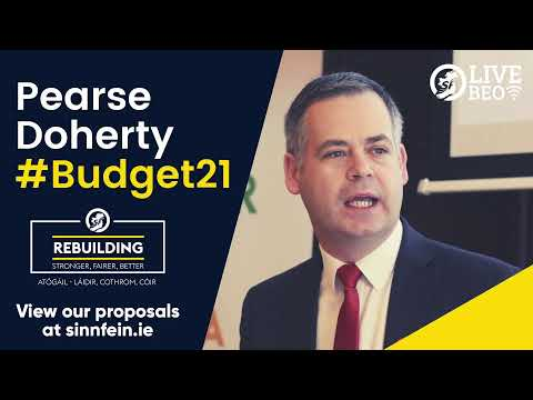 WATCH Pearse Doherty