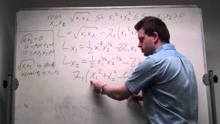 Constrained Optimization with Inequality Constraint