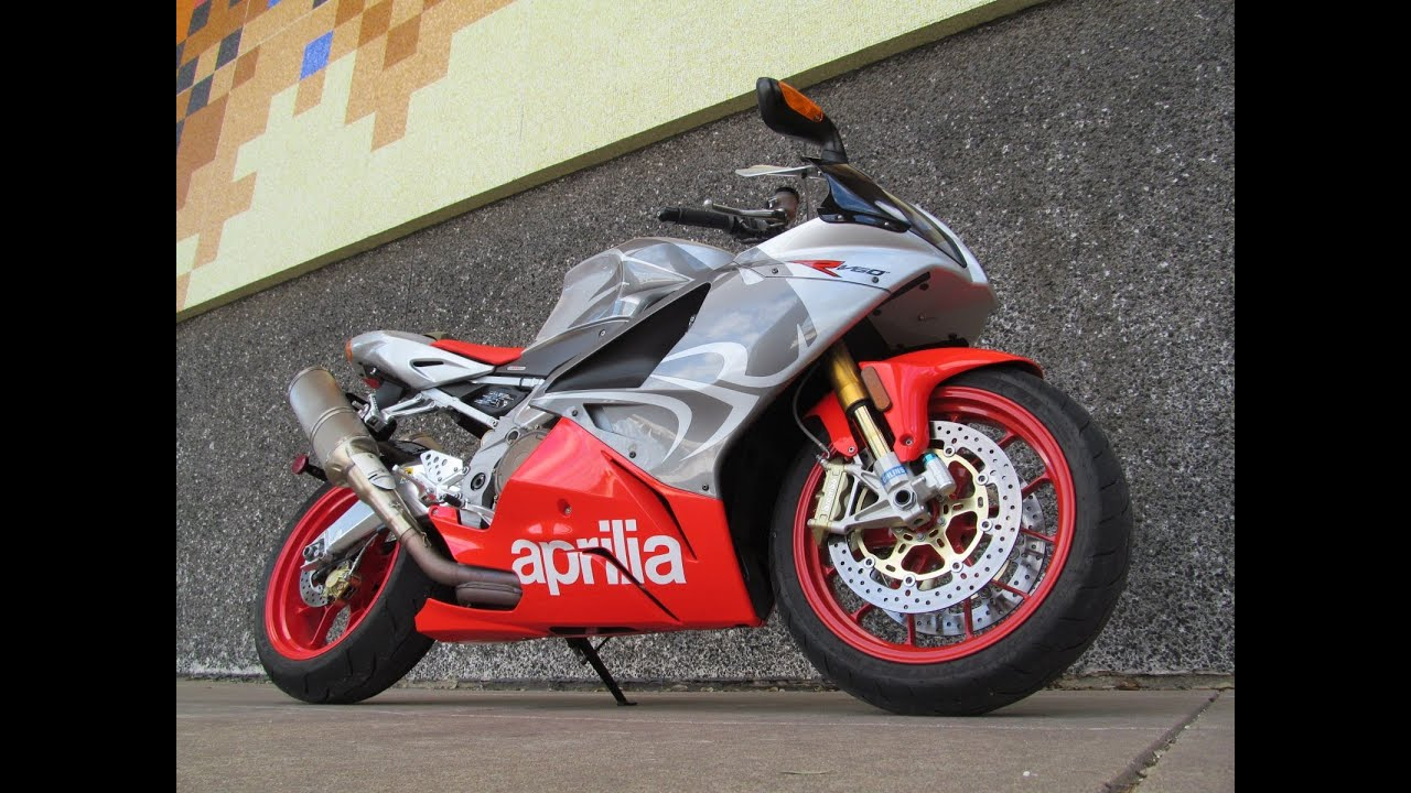 Used 2008 Aprilia Rsv 1000r V60 Motorcycle For Sale Youtube